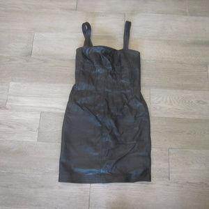 Newport News Leather Dress